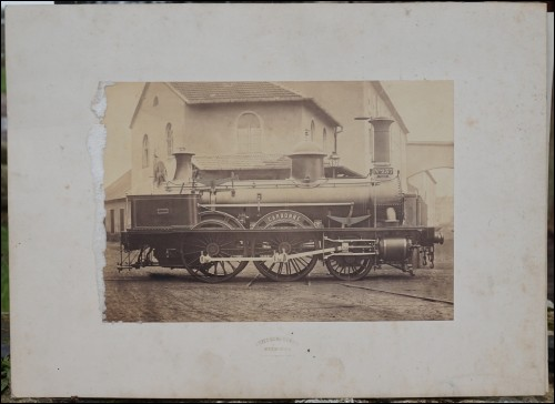 Locomotive Carbone N° 237 Photo Picture A Koechlin Mulhouse