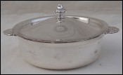 Silverplate Tureen Vegetable Lidded Dish SOH Paris Vintage