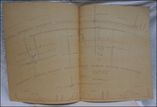 1867 Paris Universal Exhibition Steam Engine Pipes Distribution Plan