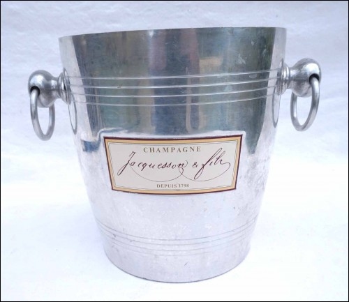 Aluminum Champagne Cooler Ice Bucket Jacquesson