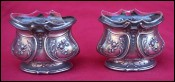 Sterling Silver Open Salt Cellar Louis XV Style