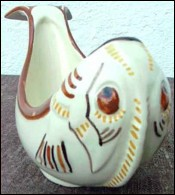 Fish Shaped Sauce Boat HB Quimper