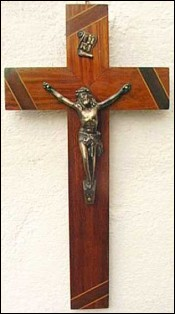 Crucifix inlay