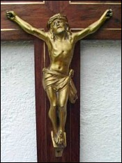 Art Deco Crucifix