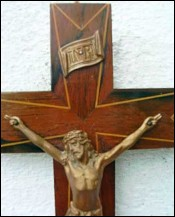 cross inlay