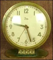 Art Deco Alarm Clock Dep France 1930