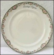 Dinner Plate Haviland Limoges for Ermitage Elysees Paris 1926