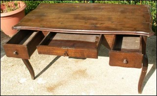 French Desk Solid Chestnut
