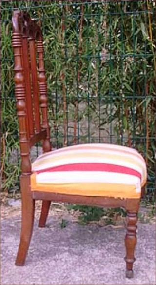 Fireside Chair Mahogany